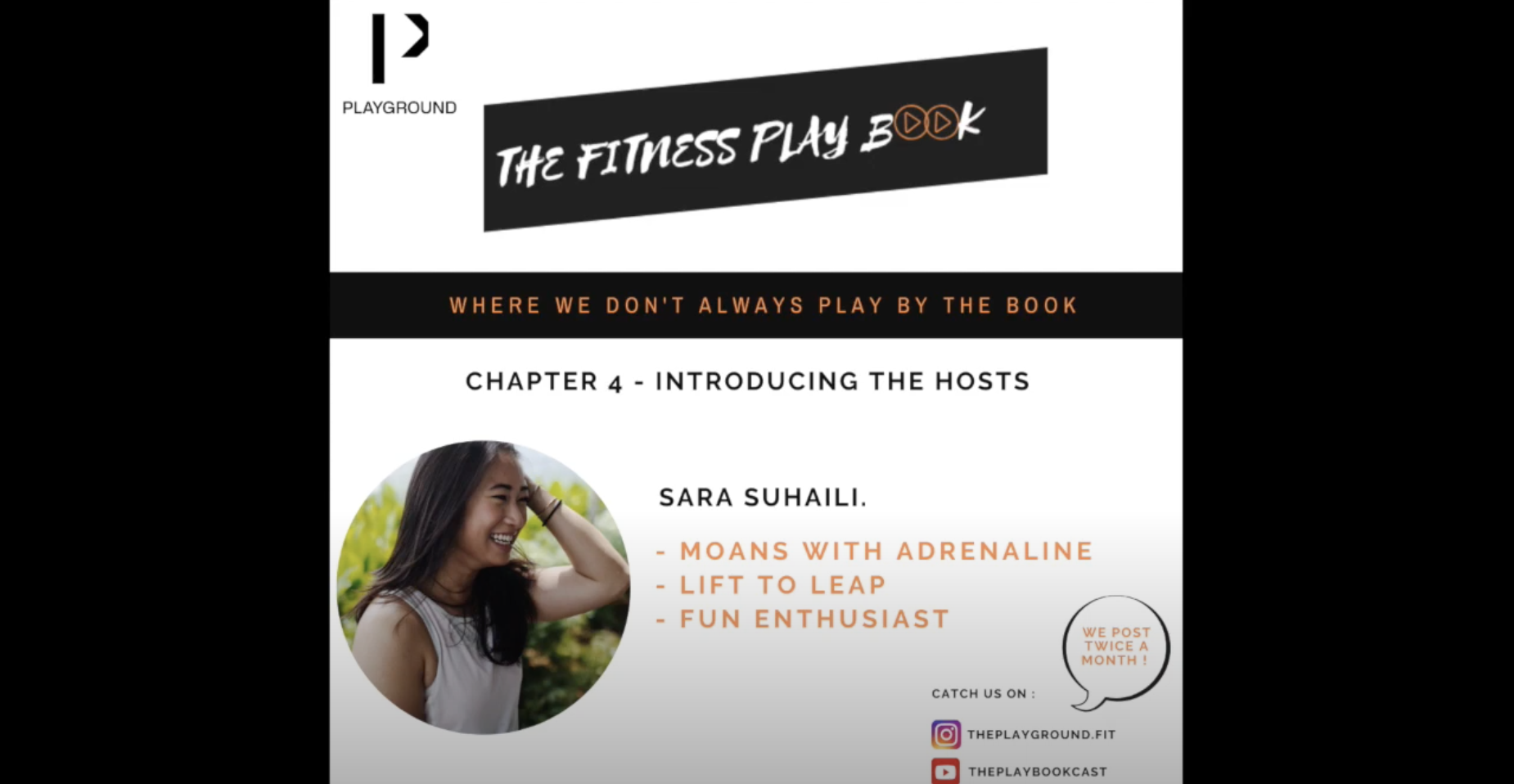 The Fitness Playbook- Chapter 4